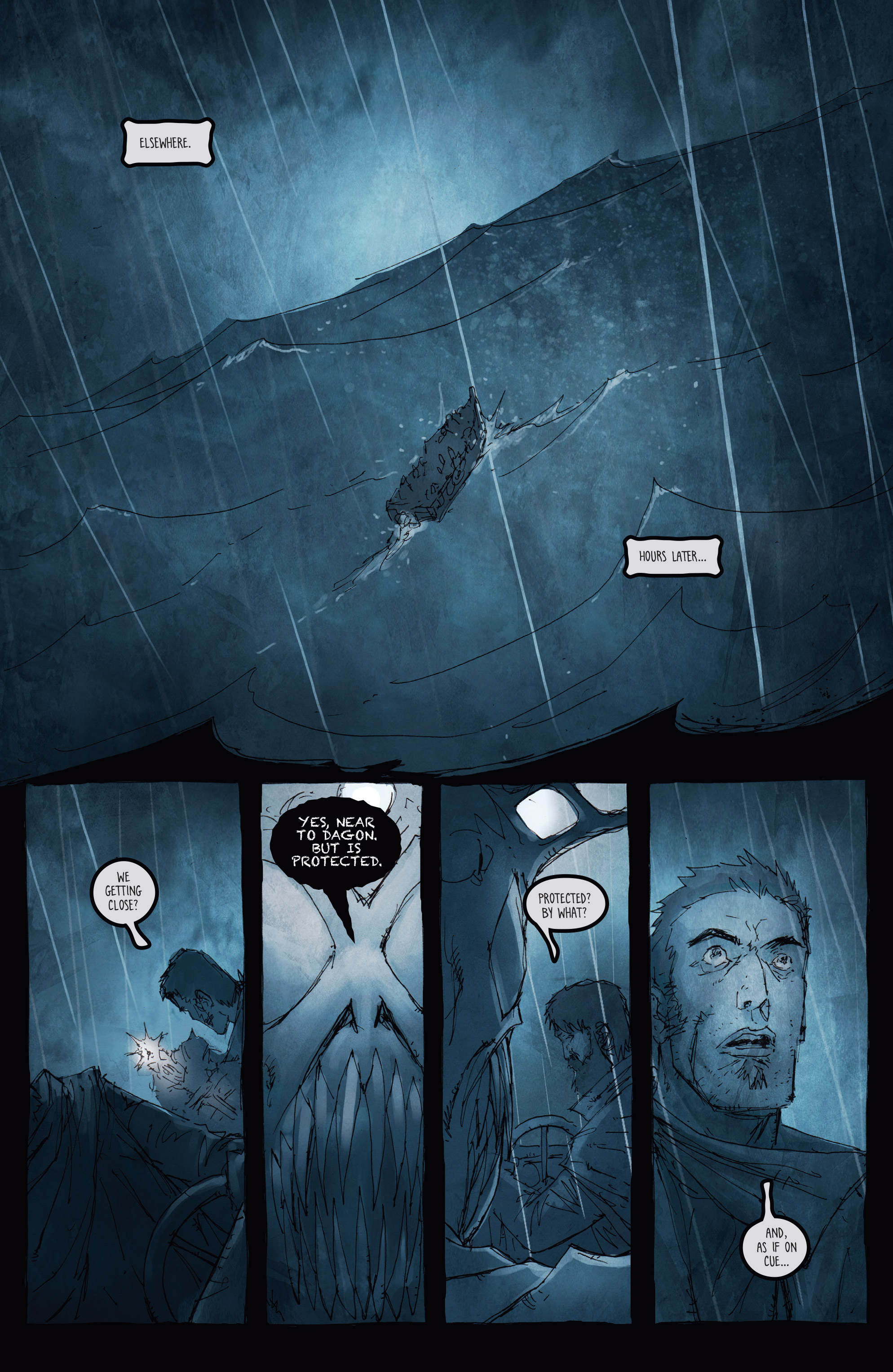 Read online Broken Moon: Legends of the Deep comic -  Issue #5 - 7