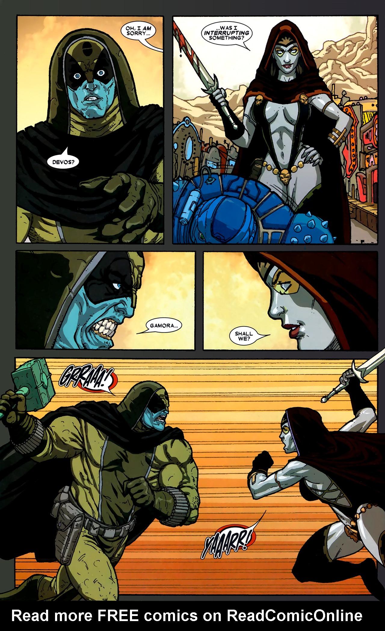 Read online Annihilation: Ronan comic -  Issue #2 - 23