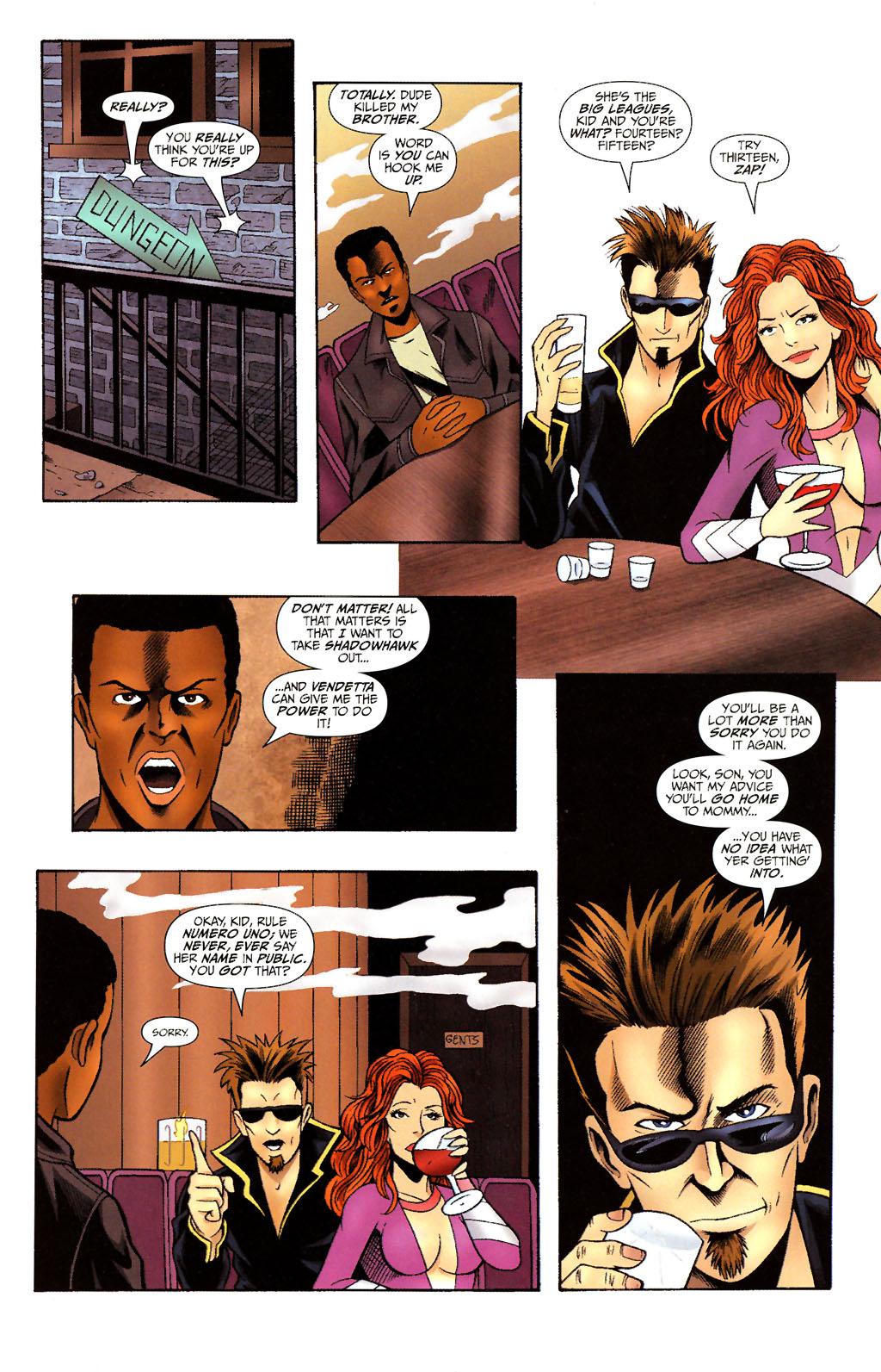 Read online ShadowHawk (2005) comic -  Issue #14 - 17