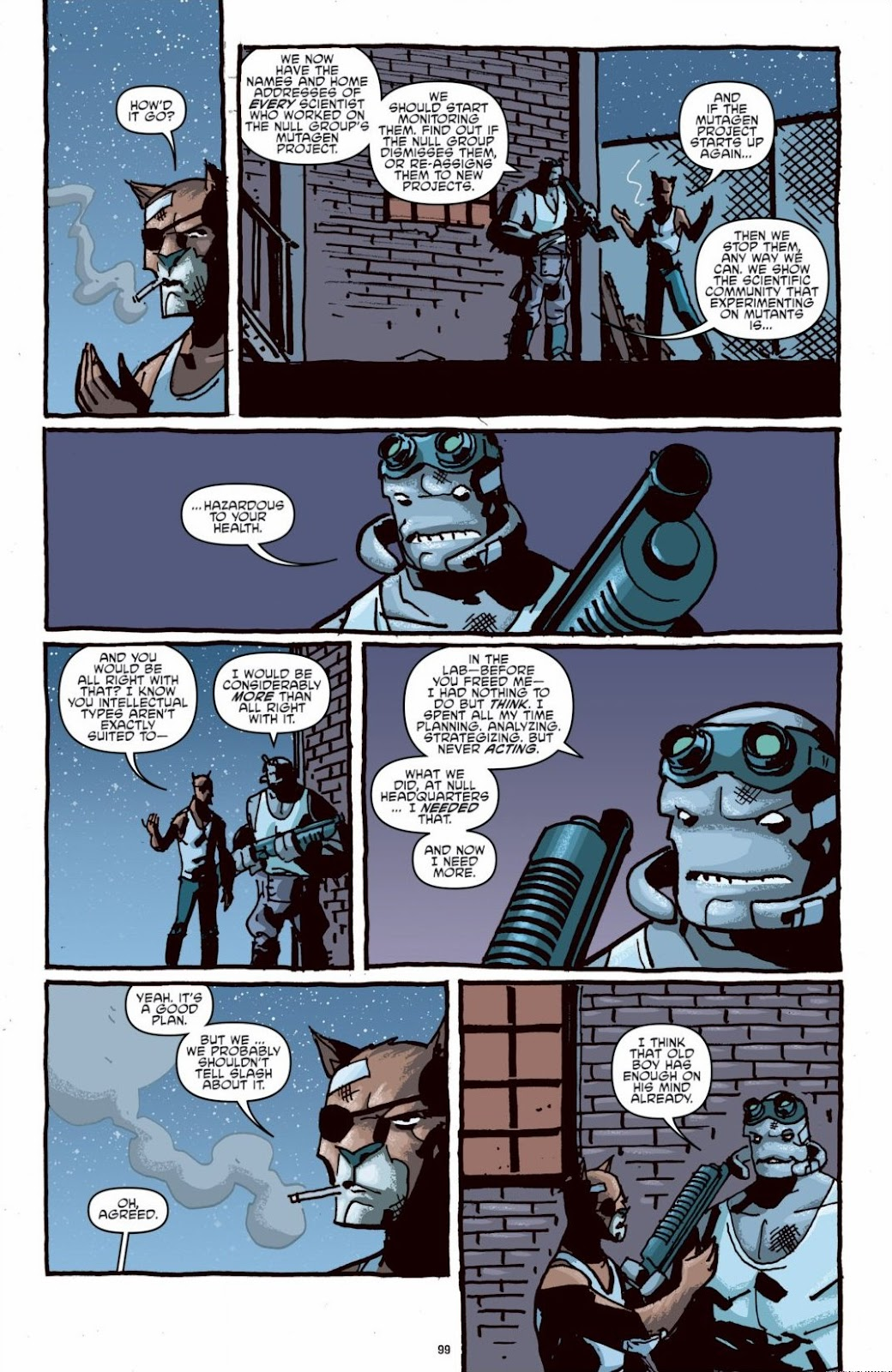 Read online Teenage Mutant Ninja Turtles: The IDW Collection comic -  Issue # TPB 6 (Part 1) - 98
