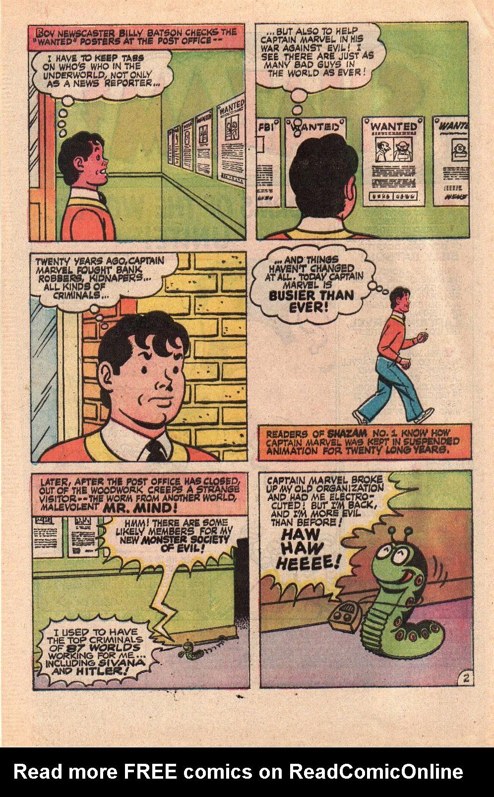 Read online Shazam! (1973) comic -  Issue #9 - 4