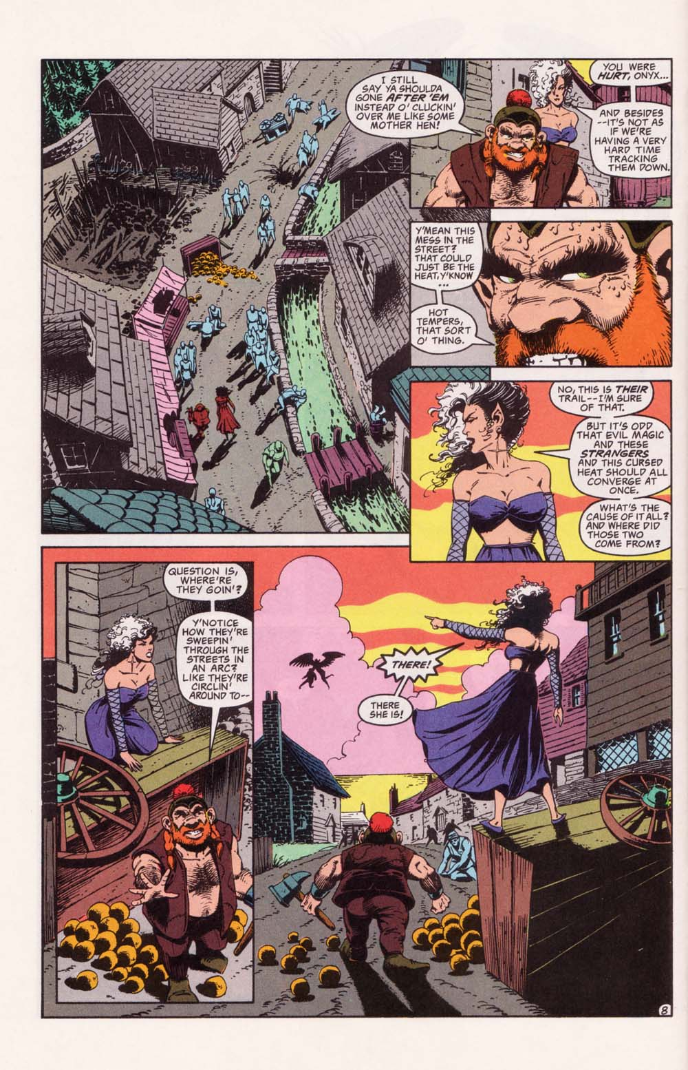 Read online Advanced Dungeons & Dragons comic -  Issue #33 - 8
