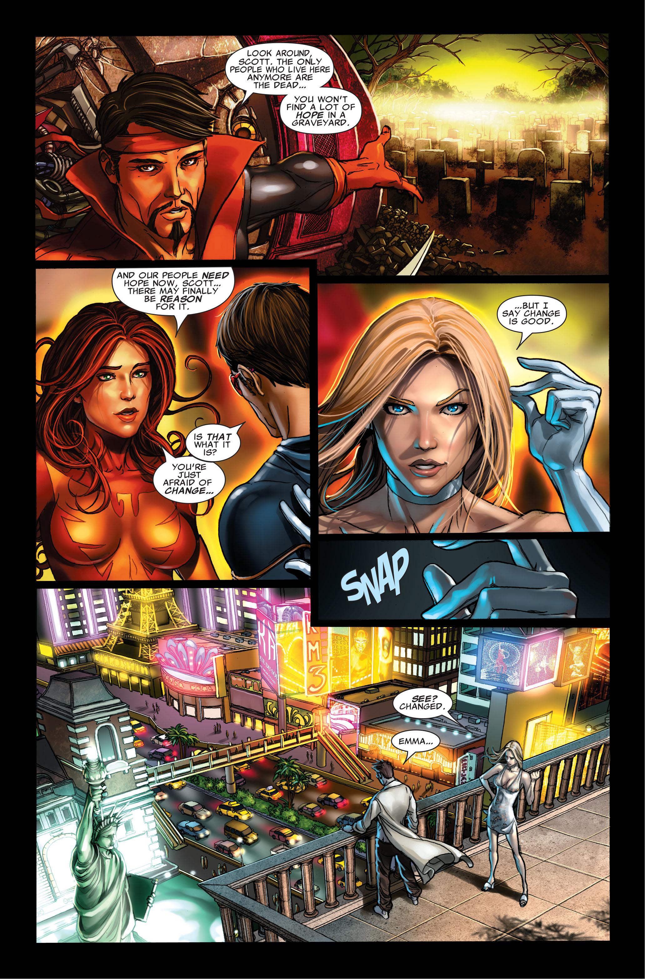 Read online Uncanny X-Men (1963) comic -  Issue #495 - 4