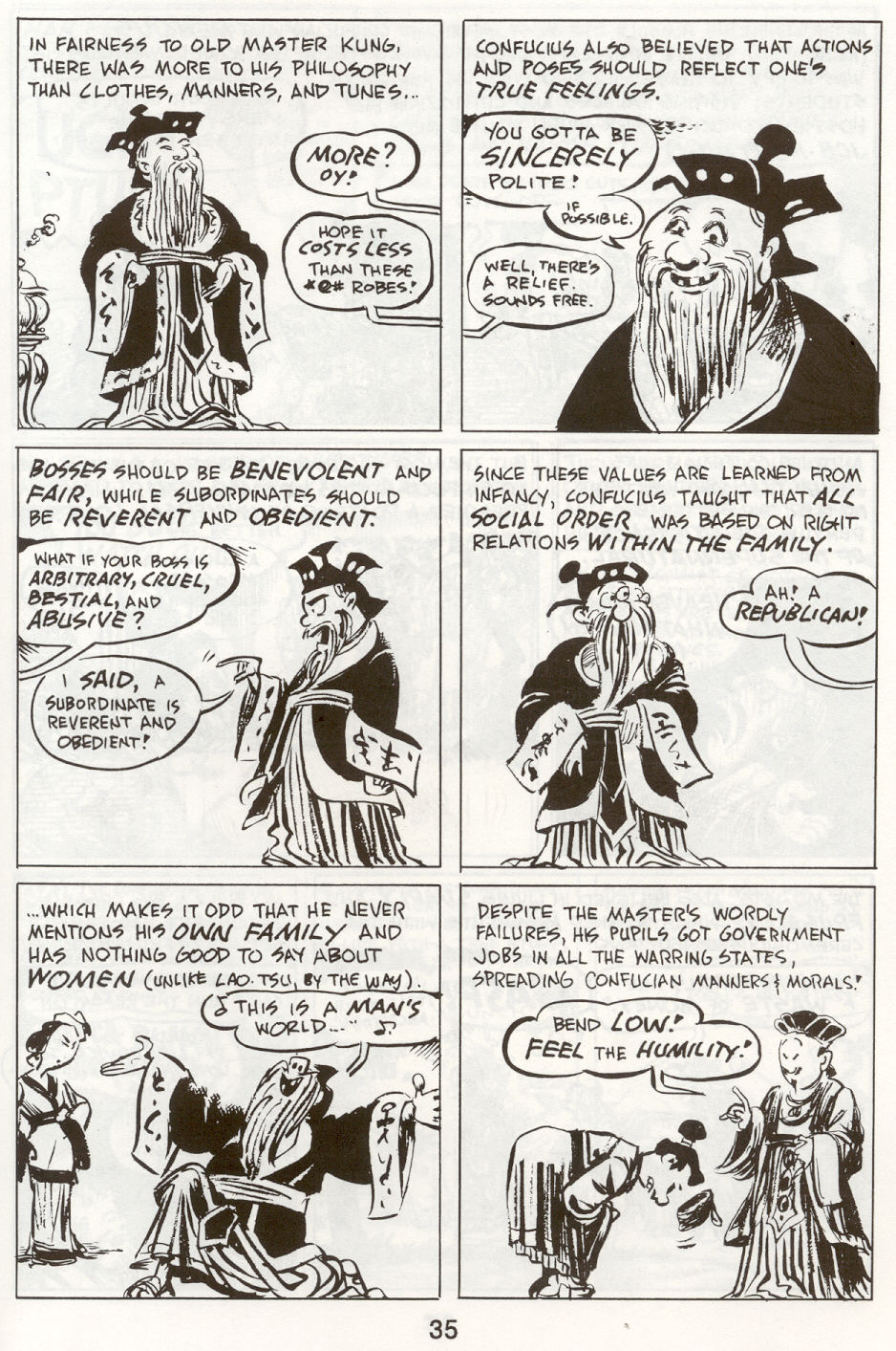 Read online The Cartoon History of the Universe comic -  Issue #9 - 38