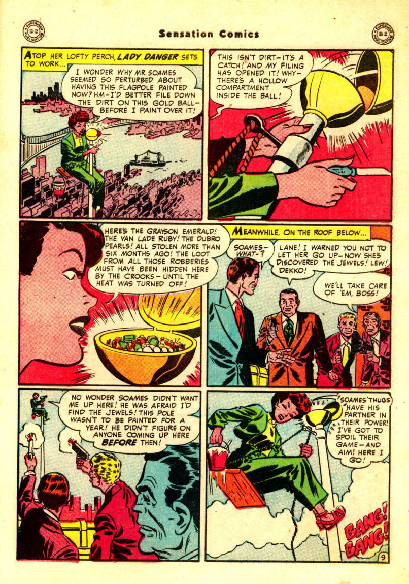Read online Sensation (Mystery) Comics comic -  Issue #88 - 48