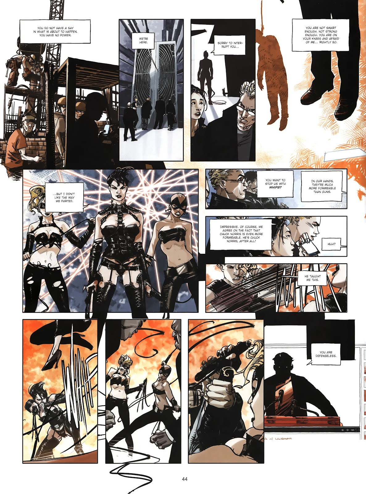 Read online Cutting Edge (2013) comic -  Issue #4 - 33