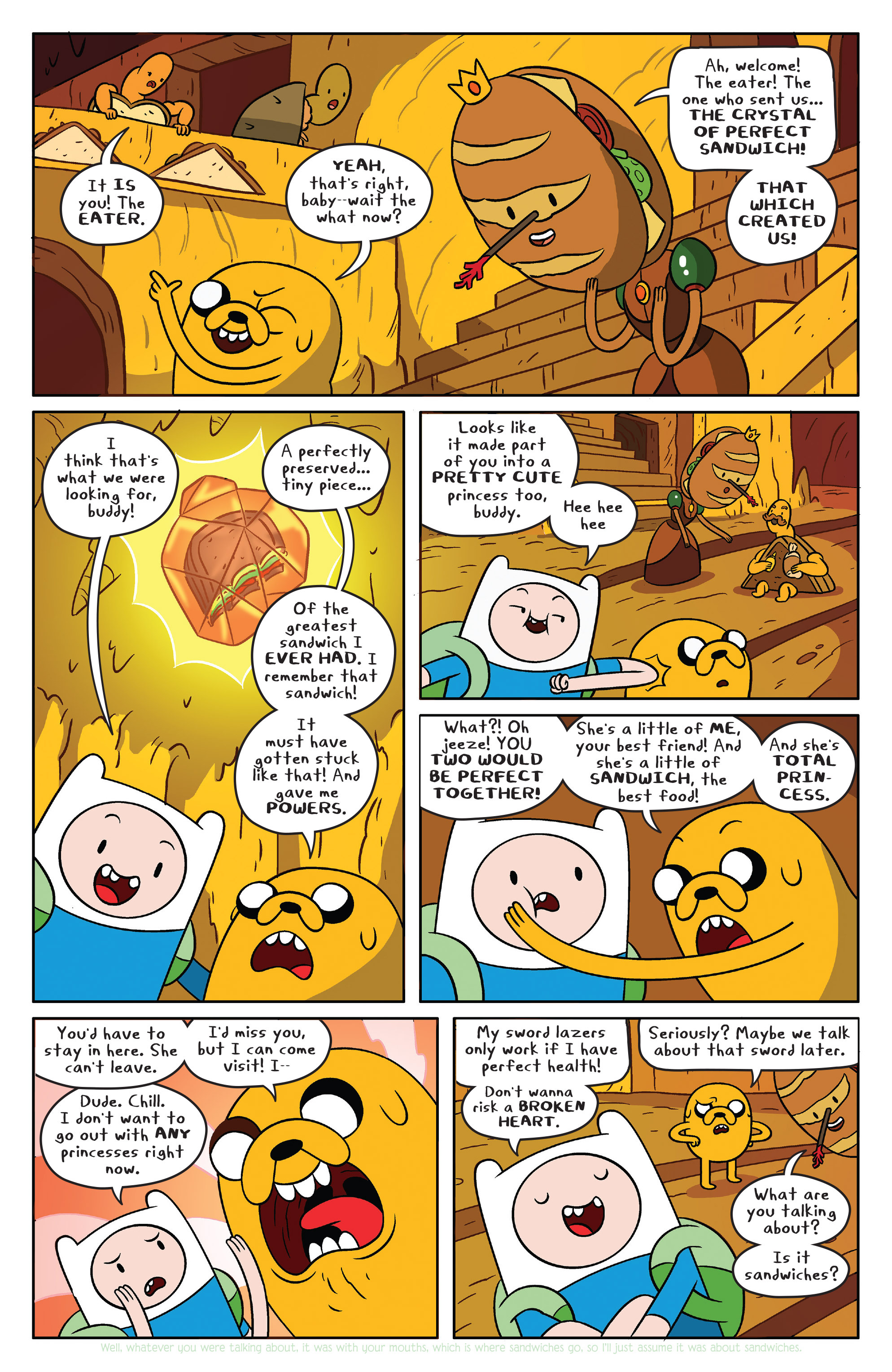 Read online Adventure Time comic -  Issue #38 - 12