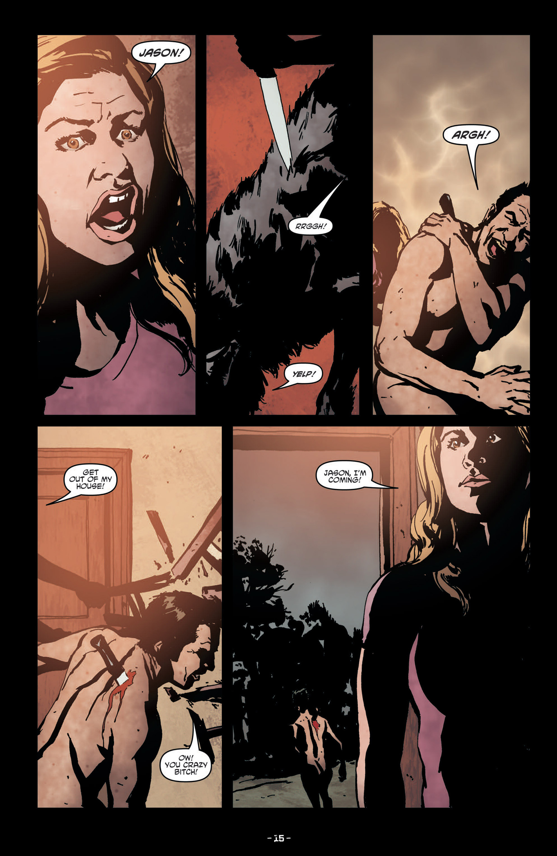 Read online True Blood (2012) comic -  Issue #7 - 17