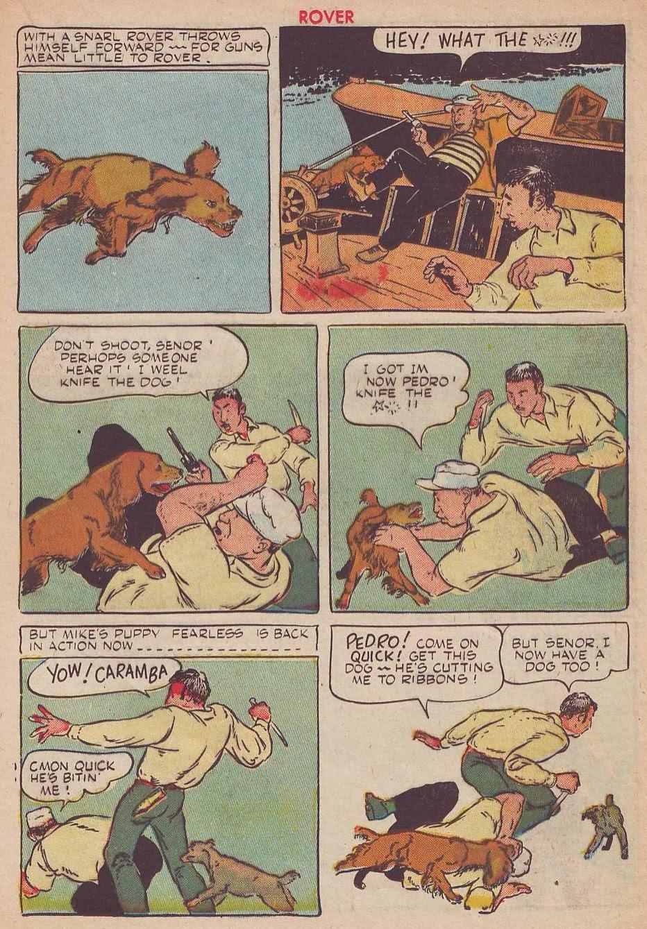 Read online Animal Comics comic -  Issue #25 - 35
