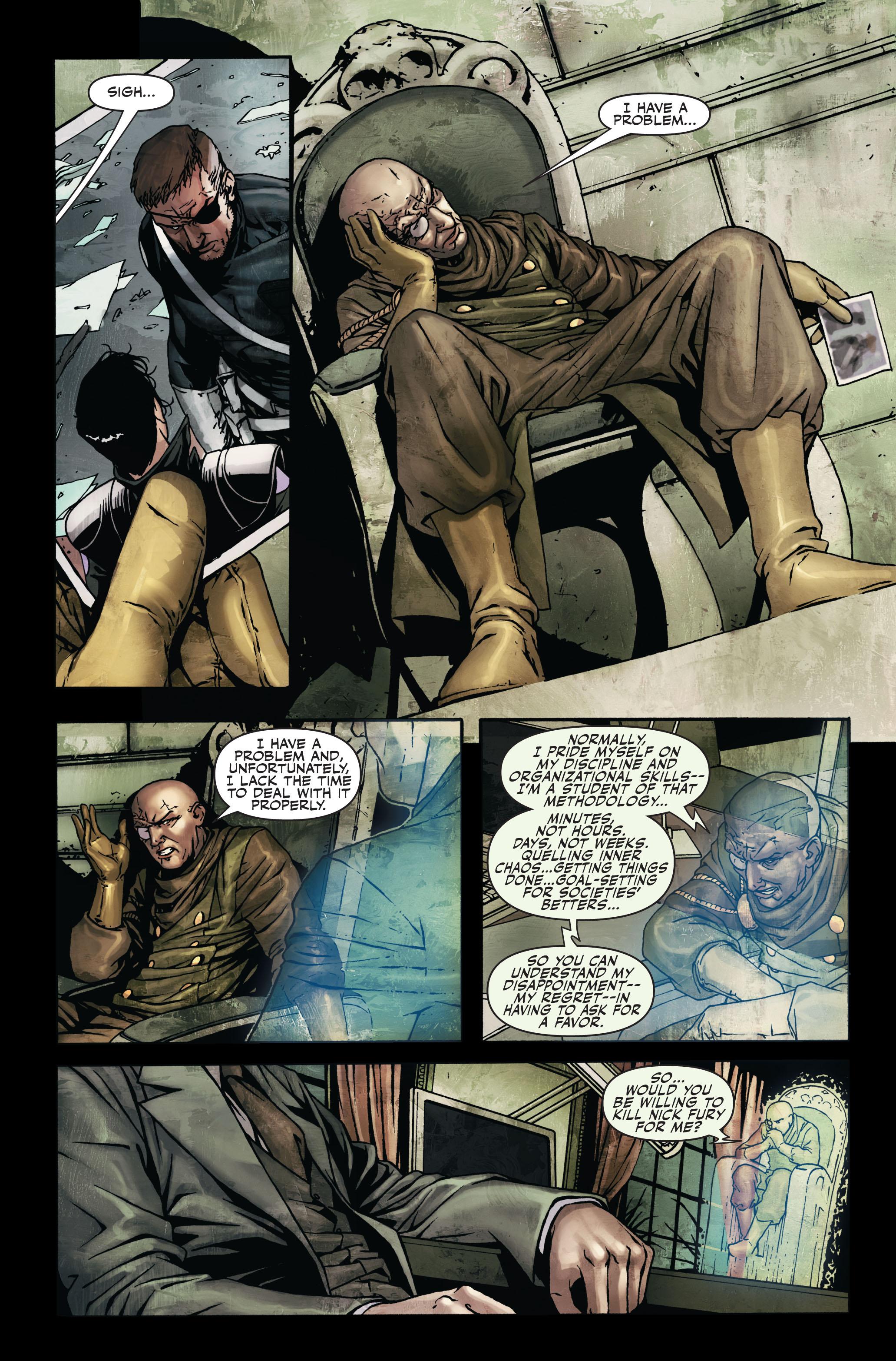 Read online Secret Warriors comic -  Issue #7 - 10
