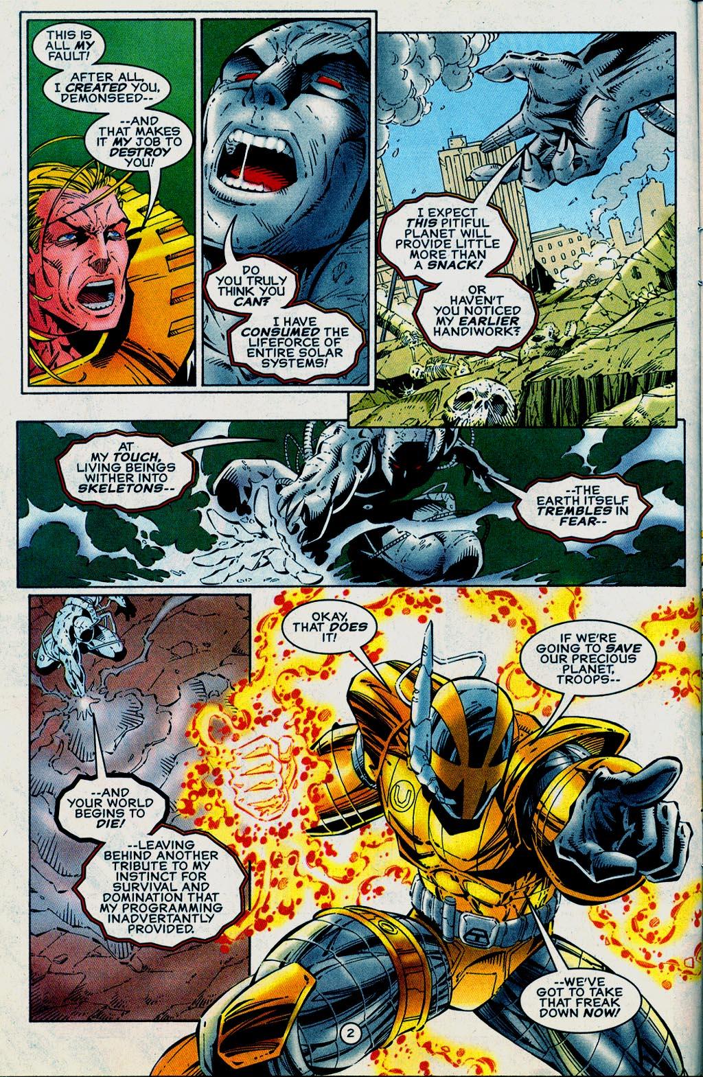 Read online UltraForce (1995) comic -  Issue #15 - 3
