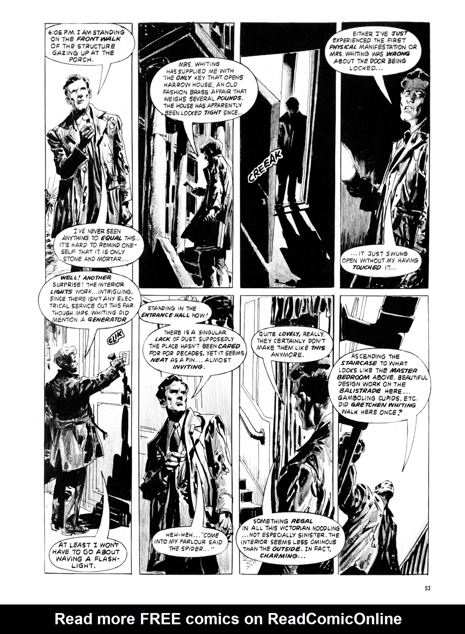 Read online Eerie Archives comic -  Issue # TPB 20 - 53