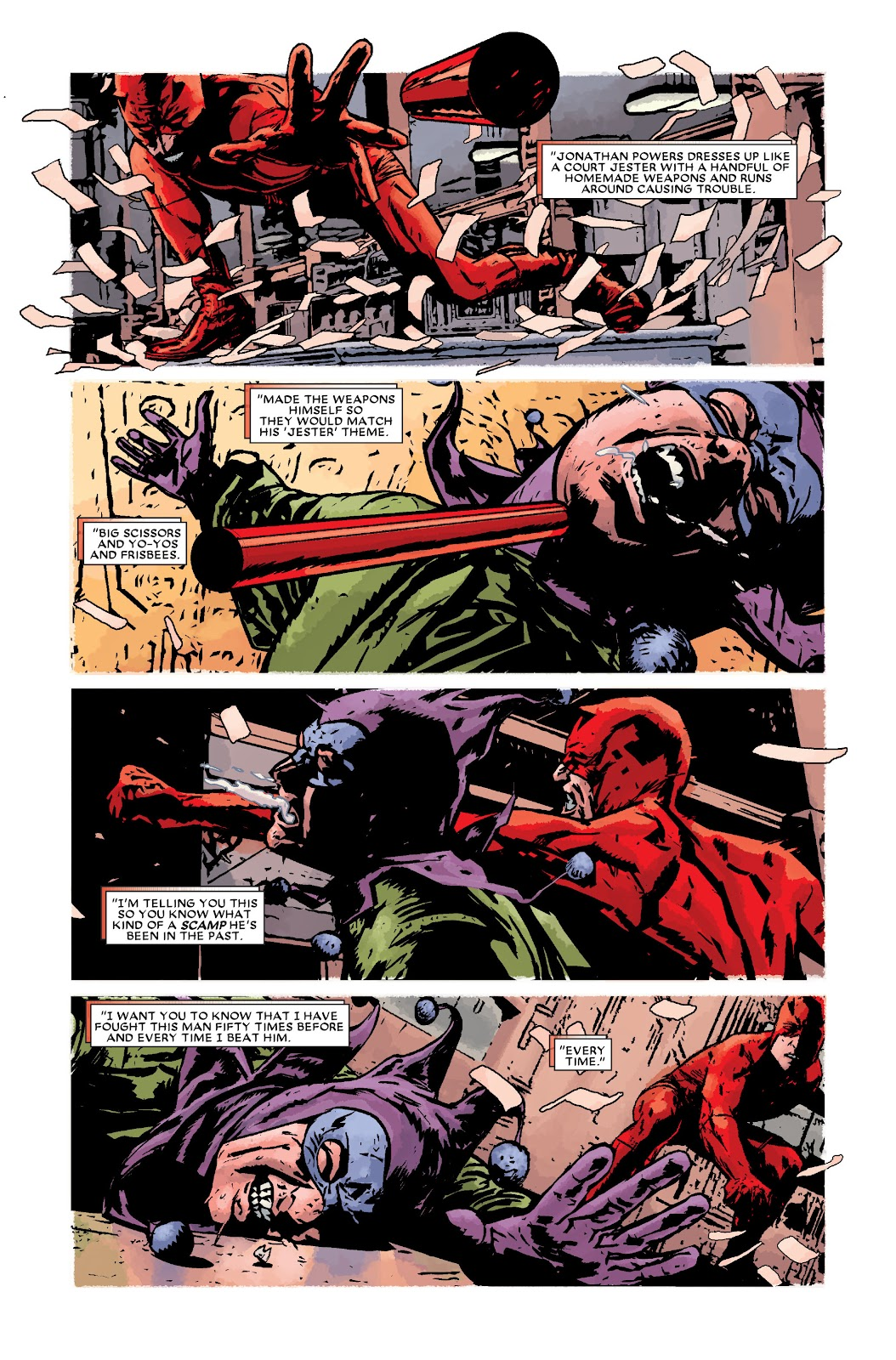 Read online Daredevil (1998) comic -  Issue # _Ultimate_Collection TPB 3 (Part 2) - 99
