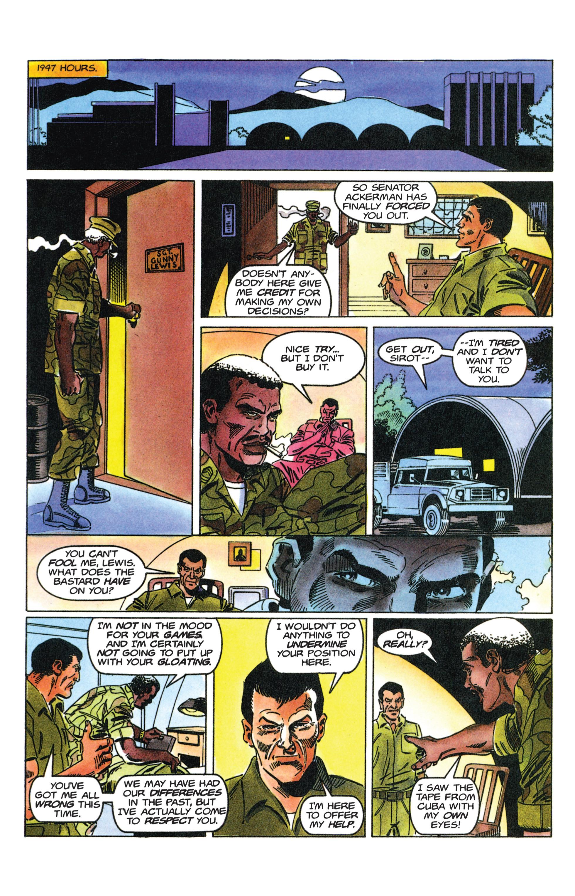Read online Armorines comic -  Issue #12 - 14