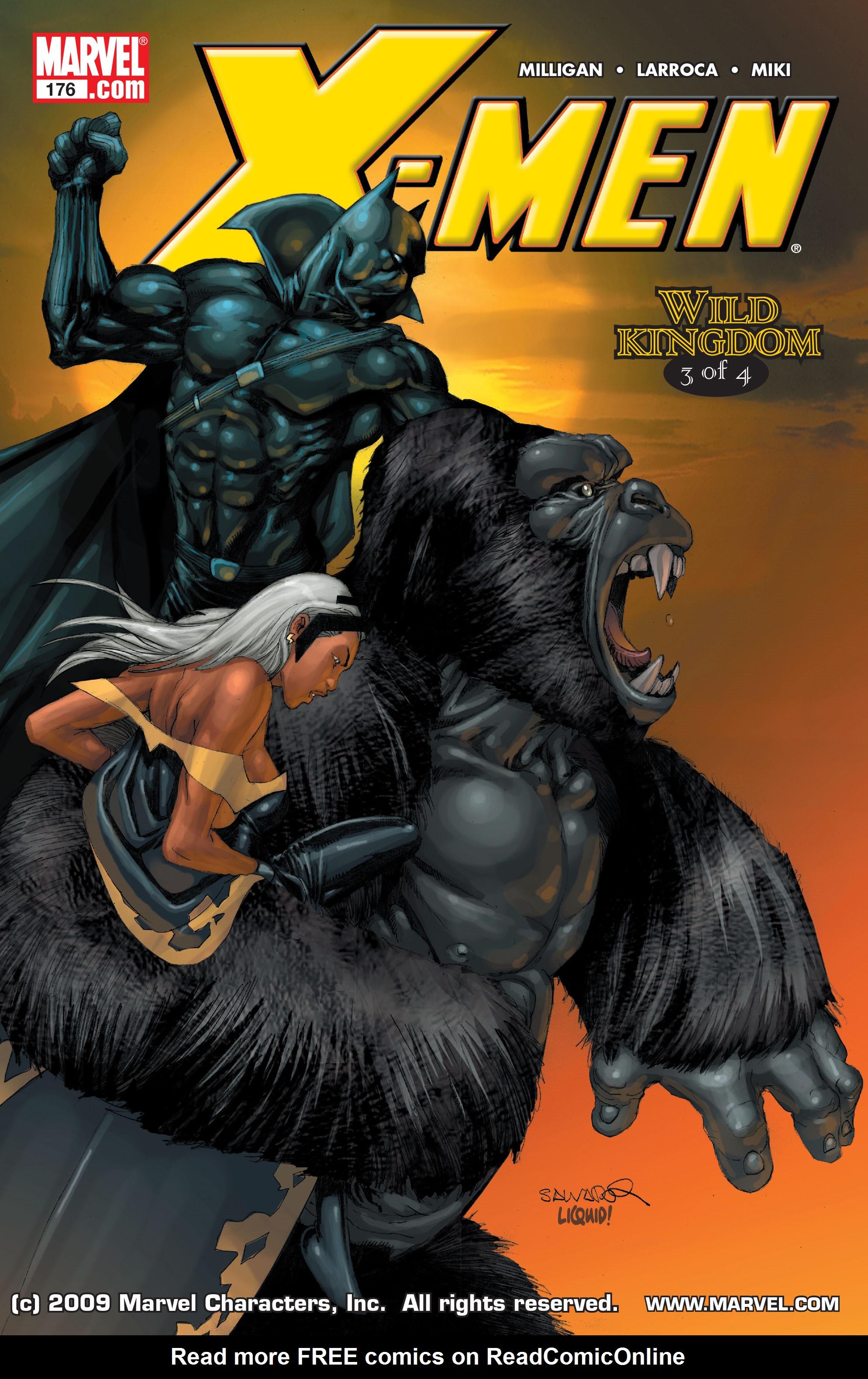 X-Men (1991) 176 Page 0