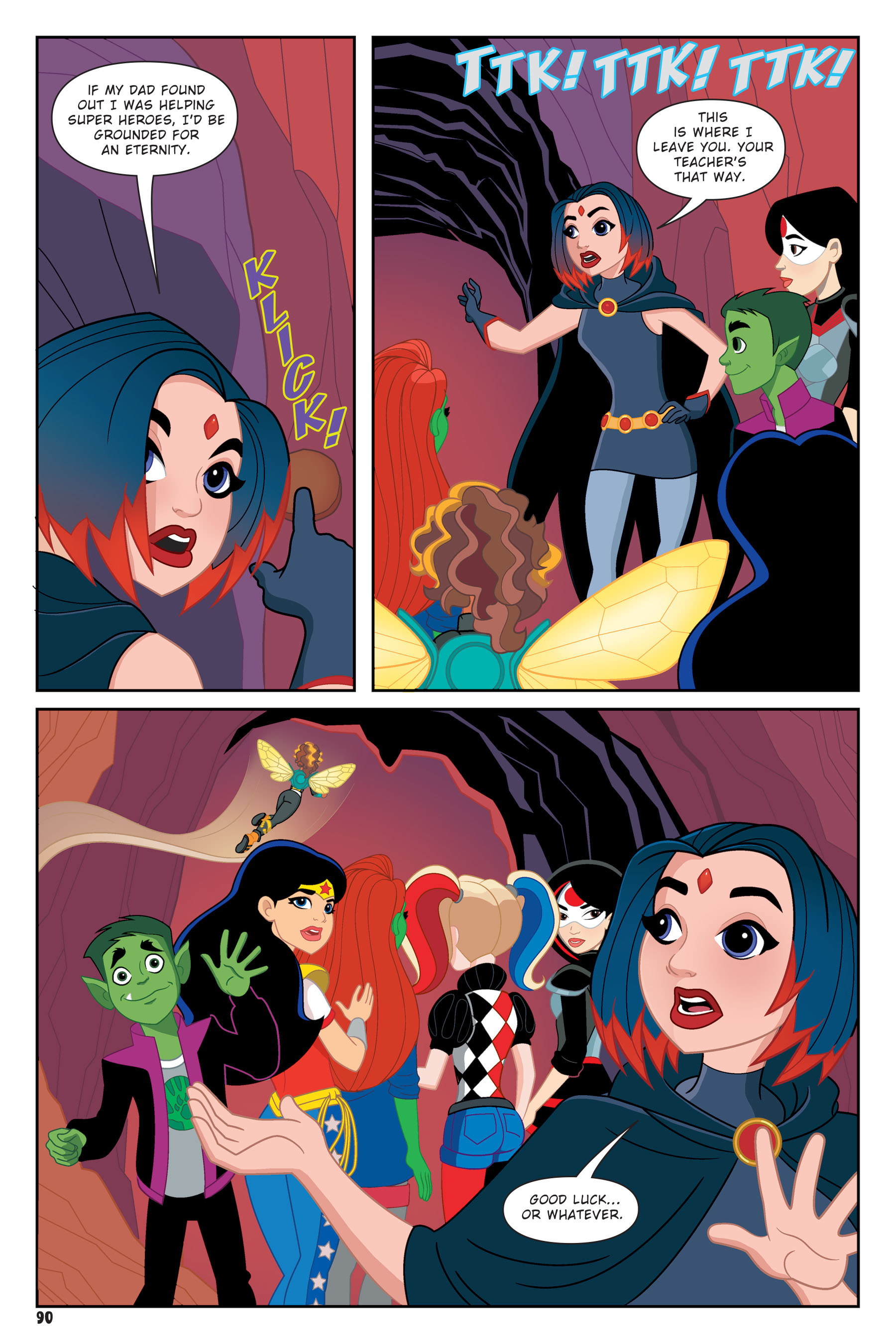 Read online DC Super Hero Girls: Hits and Myths comic -  Issue # Full - 87
