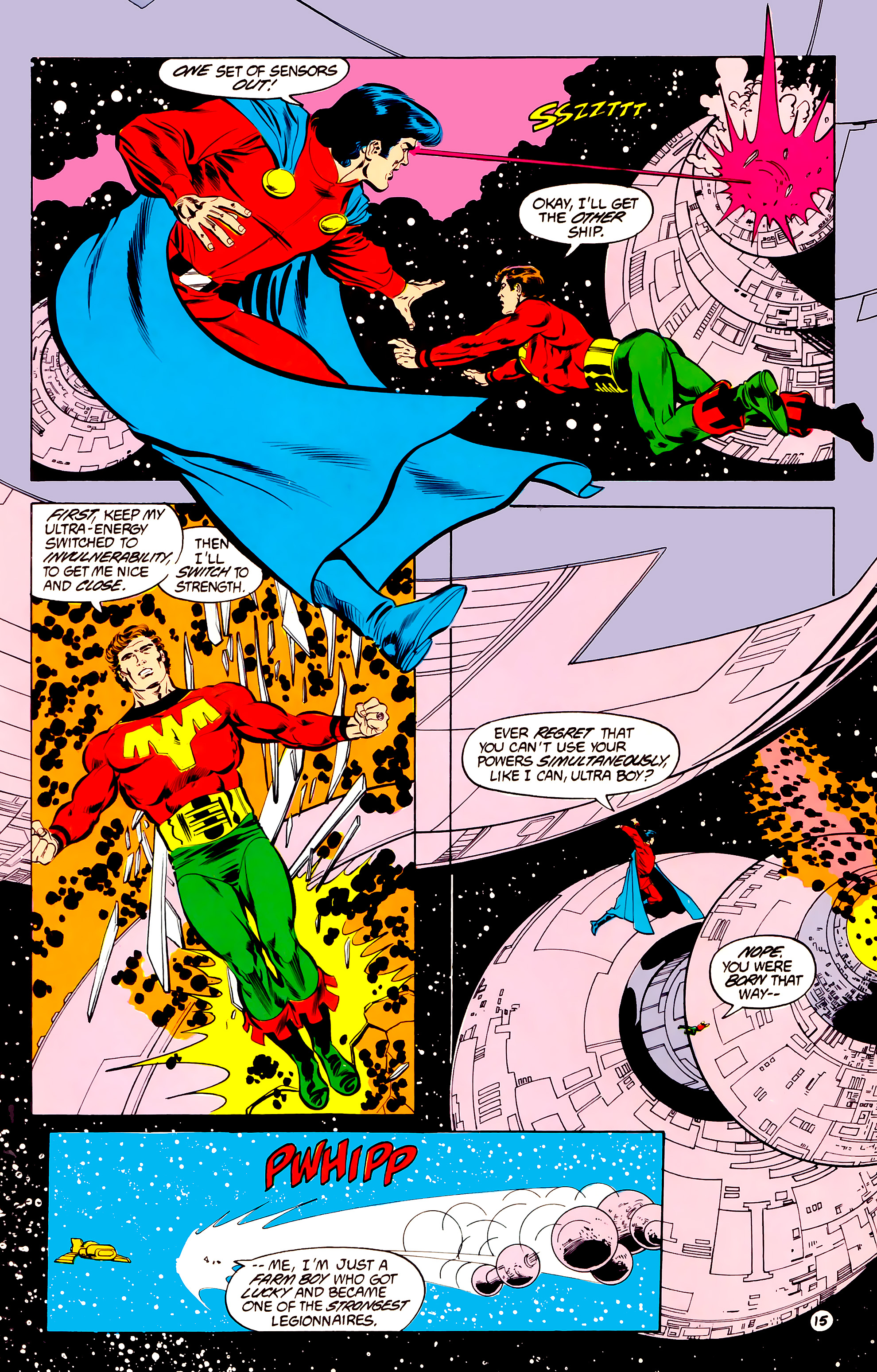 Legion of Super-Heroes (1984) 34 Page 15