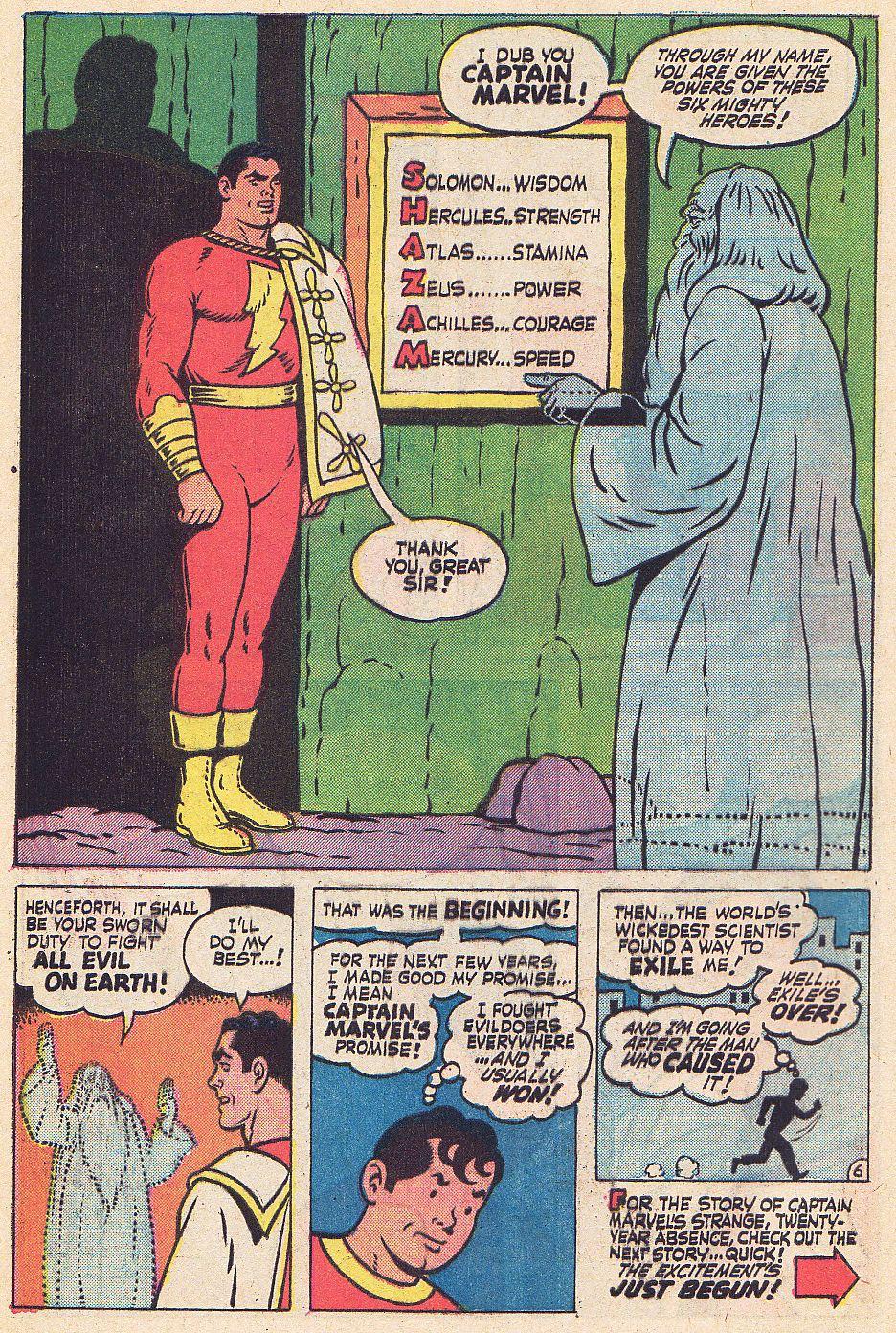 Read online Shazam! (1973) comic -  Issue #1 - 7