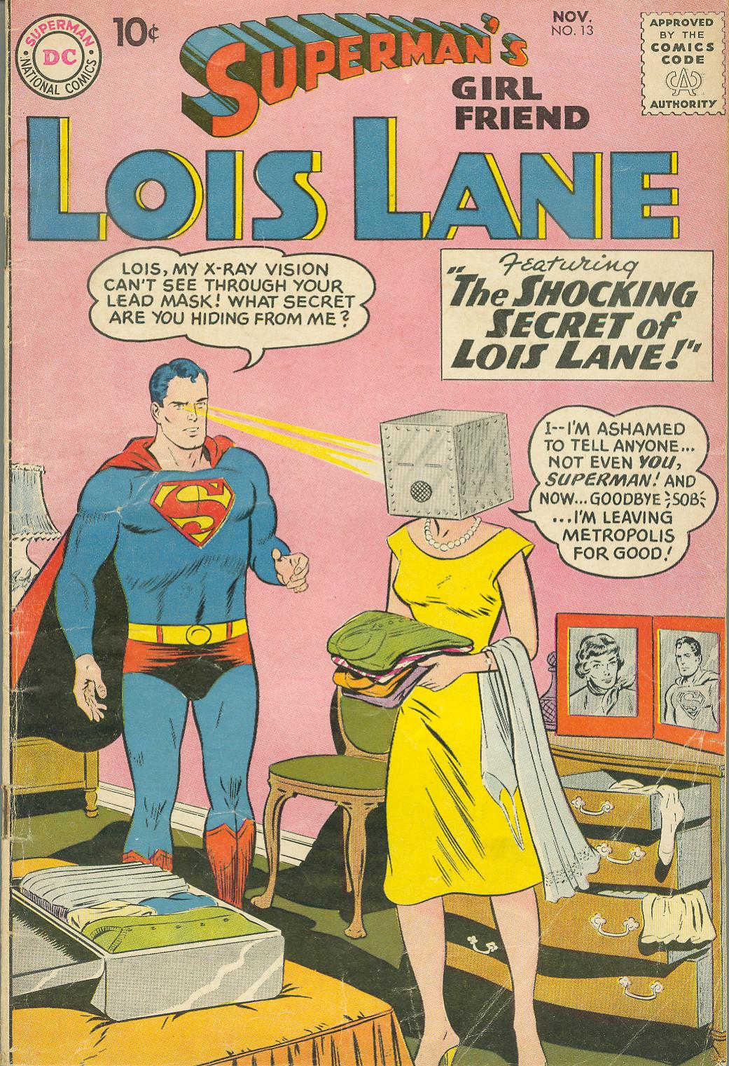 Supermans Girl Friend, Lois Lane 13 Page 1