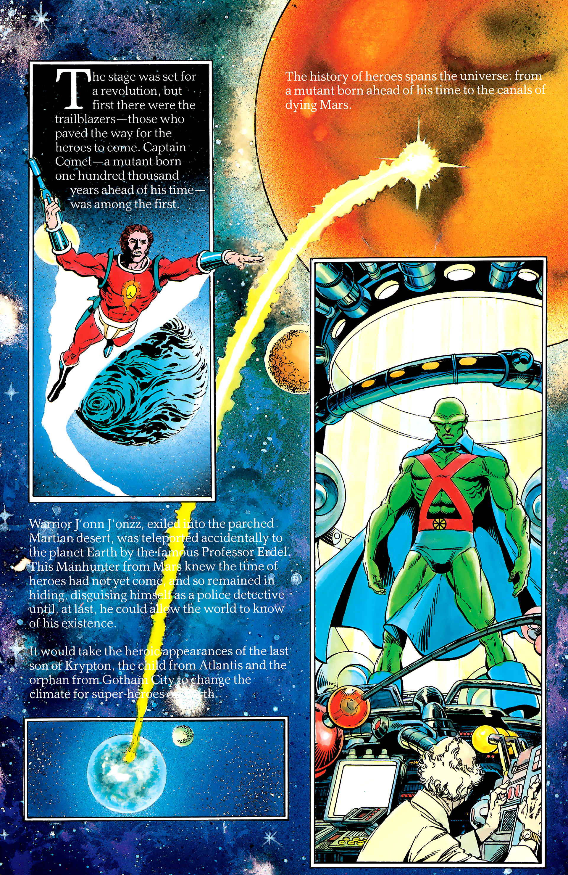 Read online History of the DC Universe comic -  Issue #2 - 13