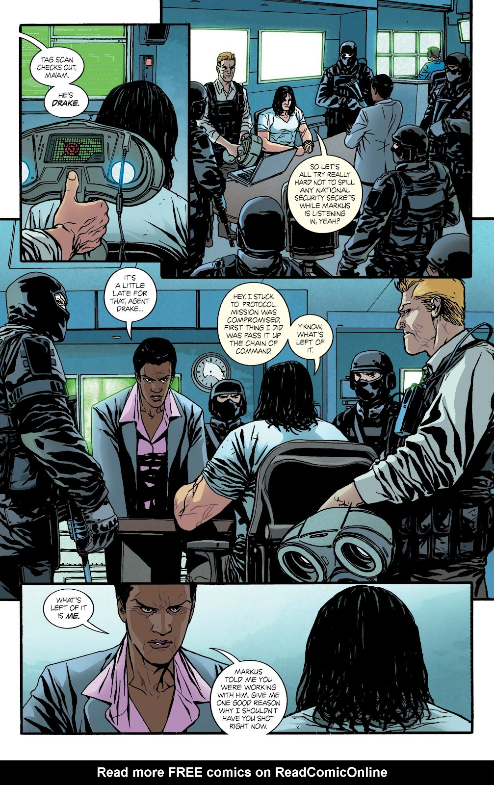 Read online Hardcore comic -  Issue #4 - 17