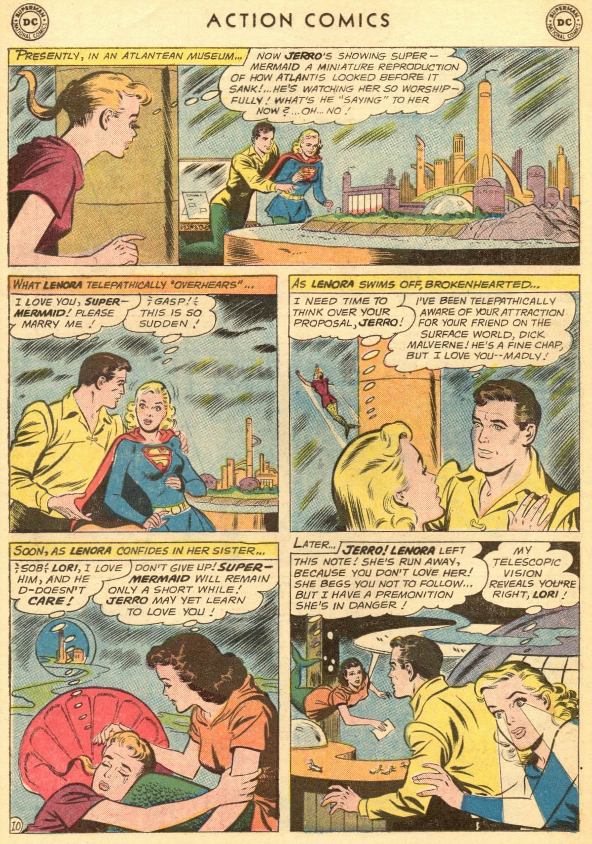 Read online Action Comics (1938) comic -  Issue #284 - 30