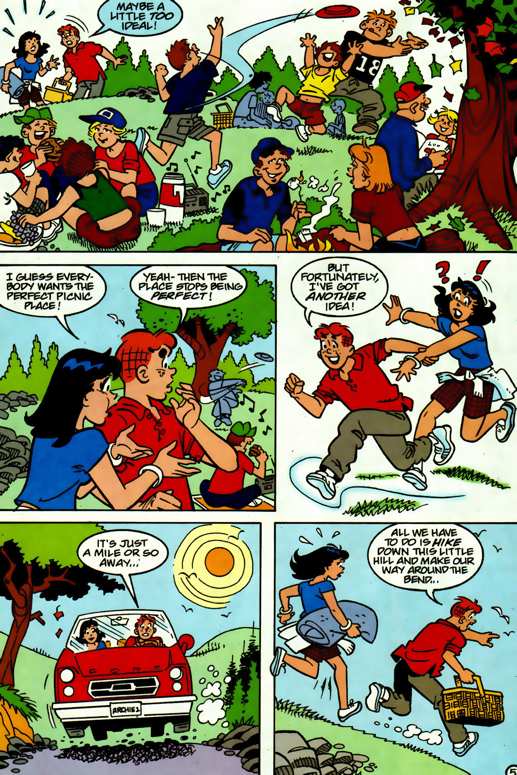 Read online Archie (1960) comic -  Issue #560 - 6