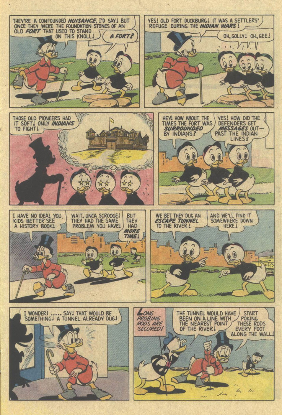 Read online Uncle Scrooge (1953) comic -  Issue #209 - 9