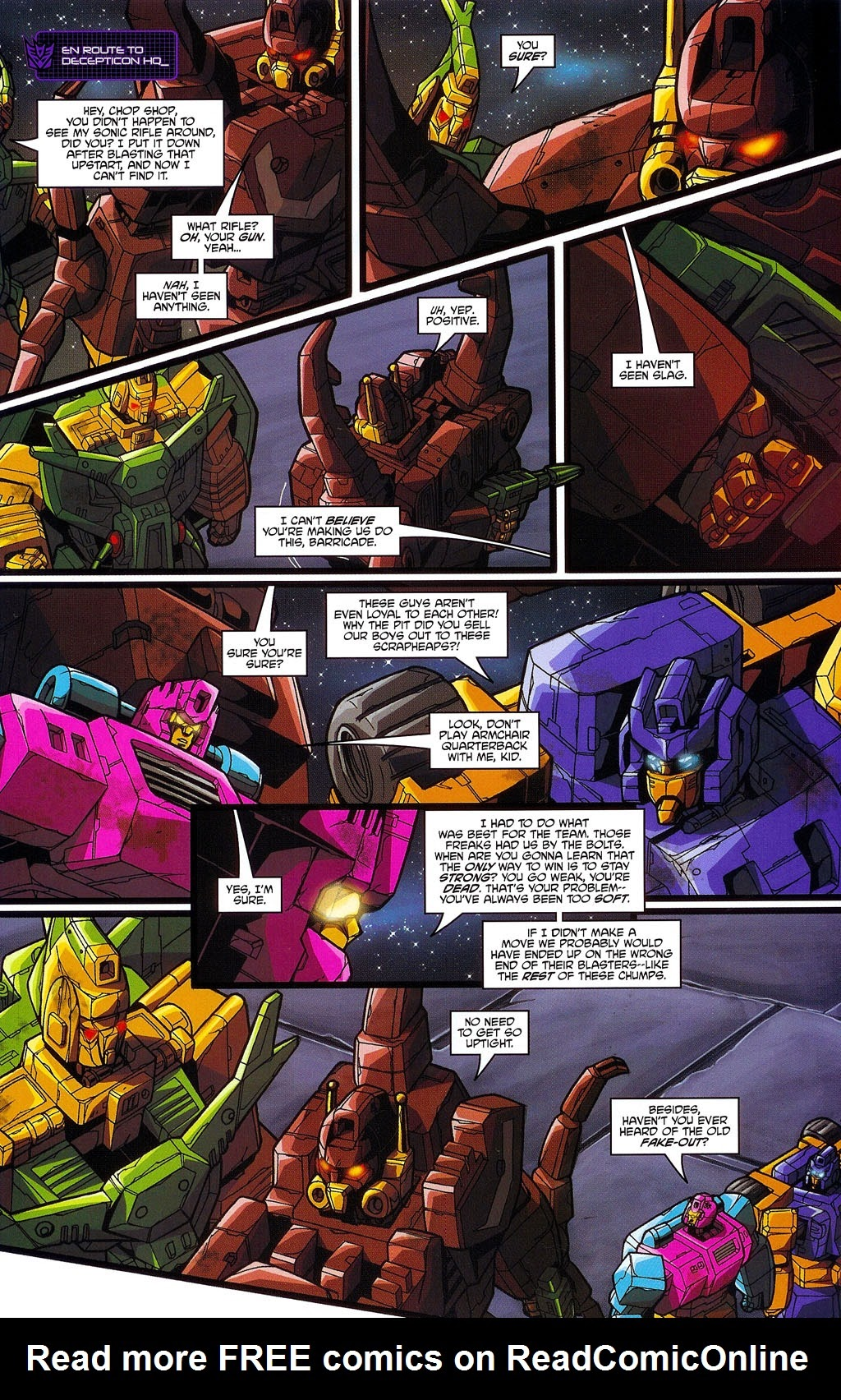 Read online Transformers: Micromasters comic -  Issue #3 - 17