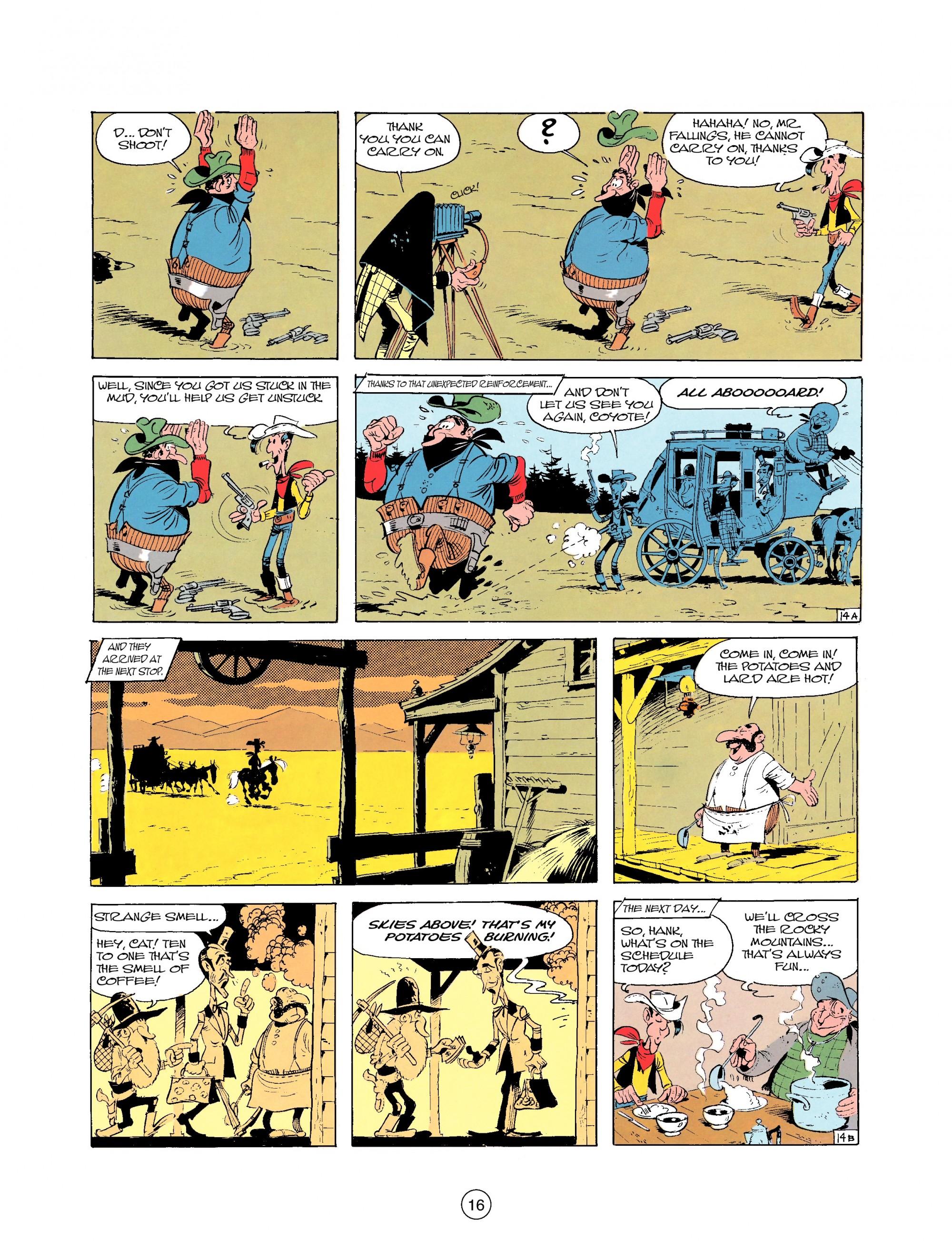 Read online A Lucky Luke Adventure comic -  Issue #25 - 16