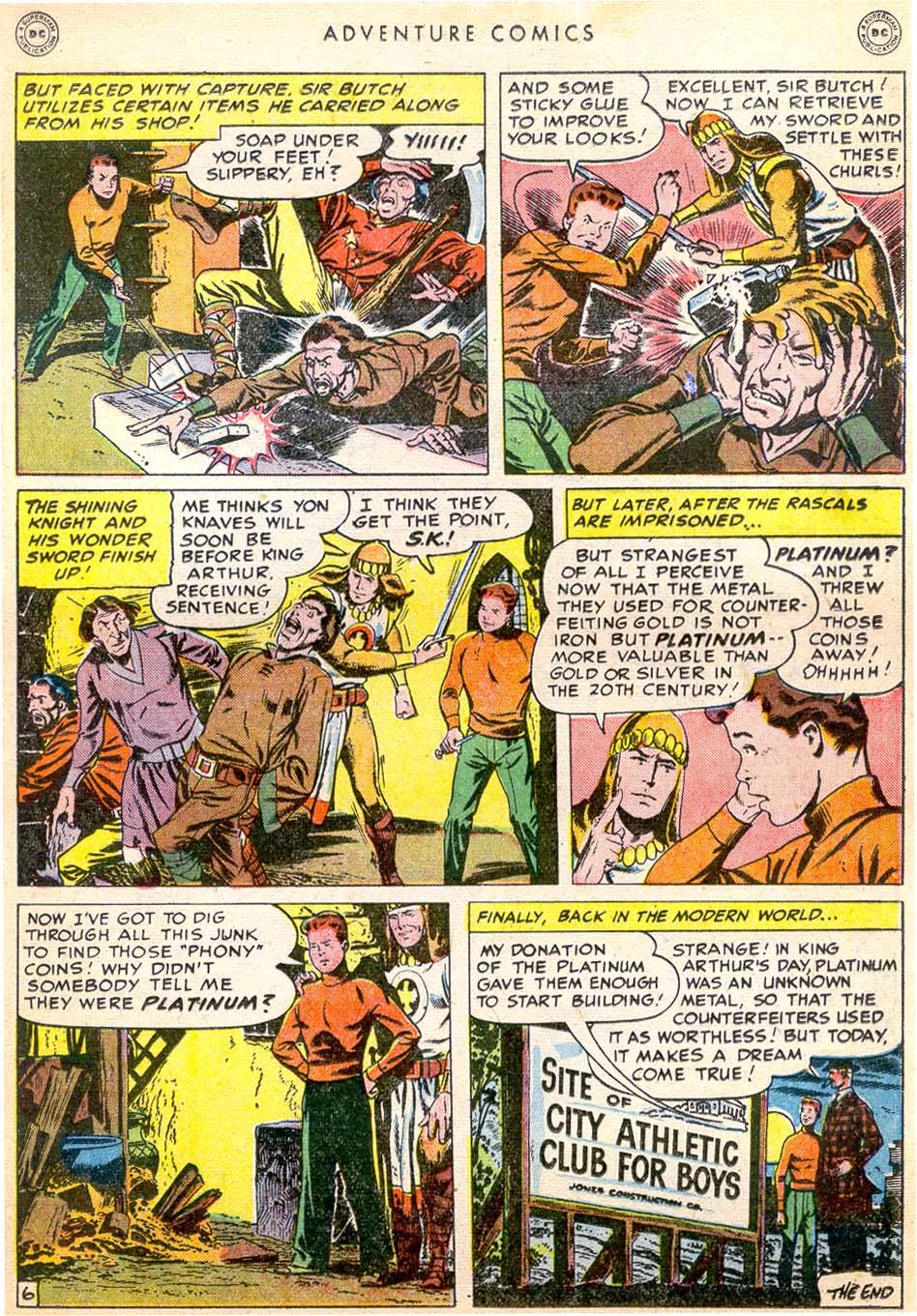 Read online Adventure Comics (1938) comic -  Issue #144 - 26