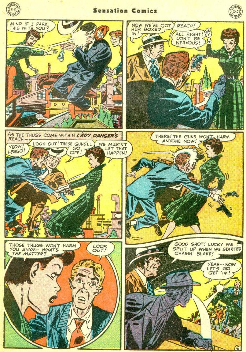 Read online Sensation (Mystery) Comics comic -  Issue #87 - 45