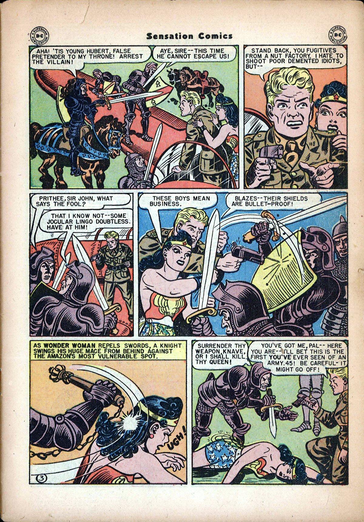 Read online Sensation (Mystery) Comics comic -  Issue #62 - 5