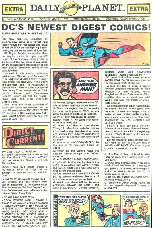 Read online Wonder Woman (1942) comic -  Issue #258 - 20