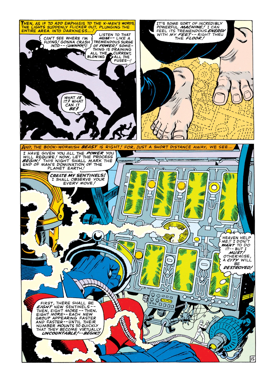 Read online Uncanny X-Men (1963) comic -  Issue #16 - 16