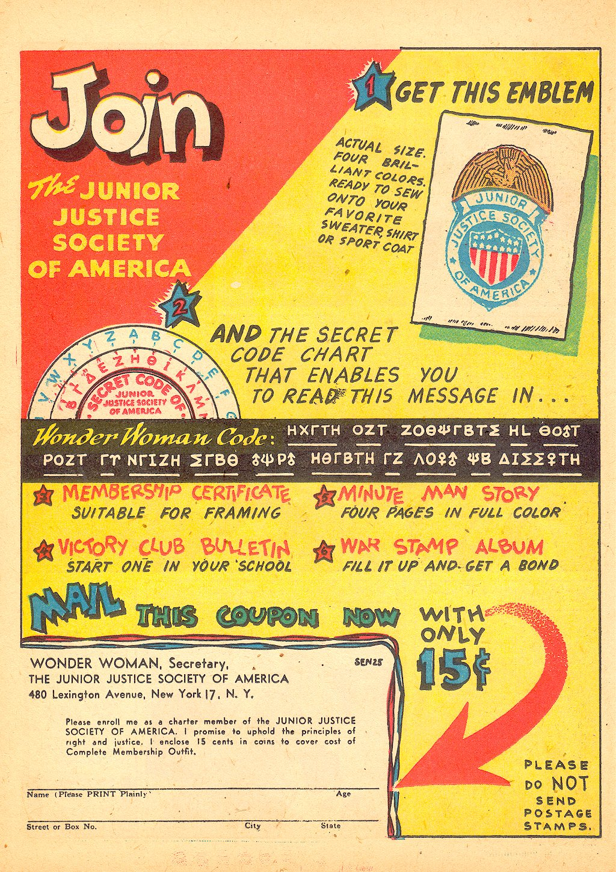 Read online Sensation (Mystery) Comics comic -  Issue #25 - 24