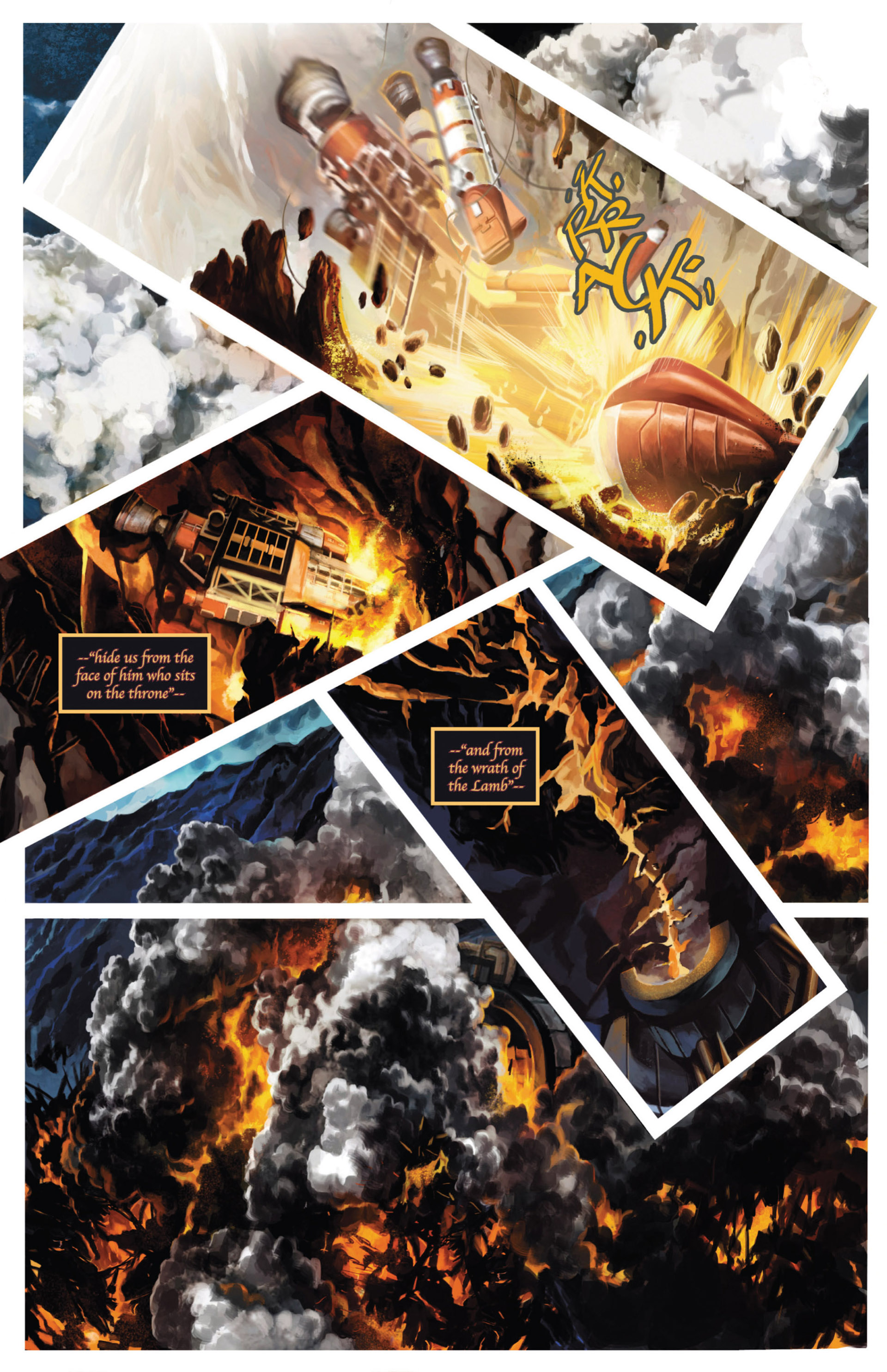 Read online Space: 1999: Aftershock comic -  Issue #3 - 14