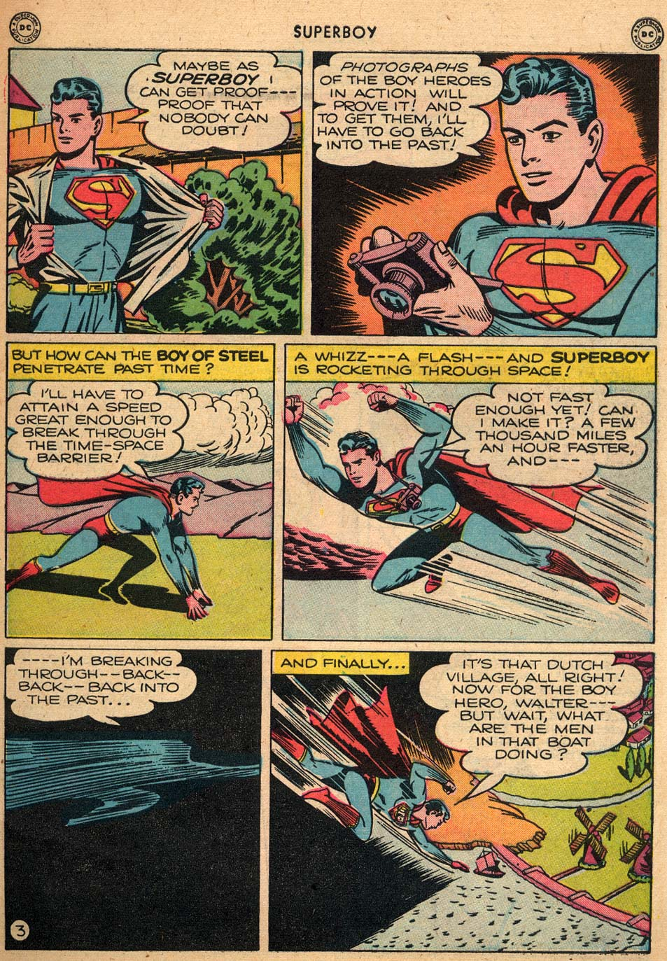 Superboy (1949) issue 3 - Page 4