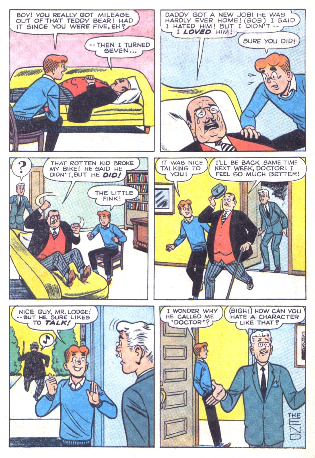 Read online Archie (1960) comic -  Issue #156 - 24