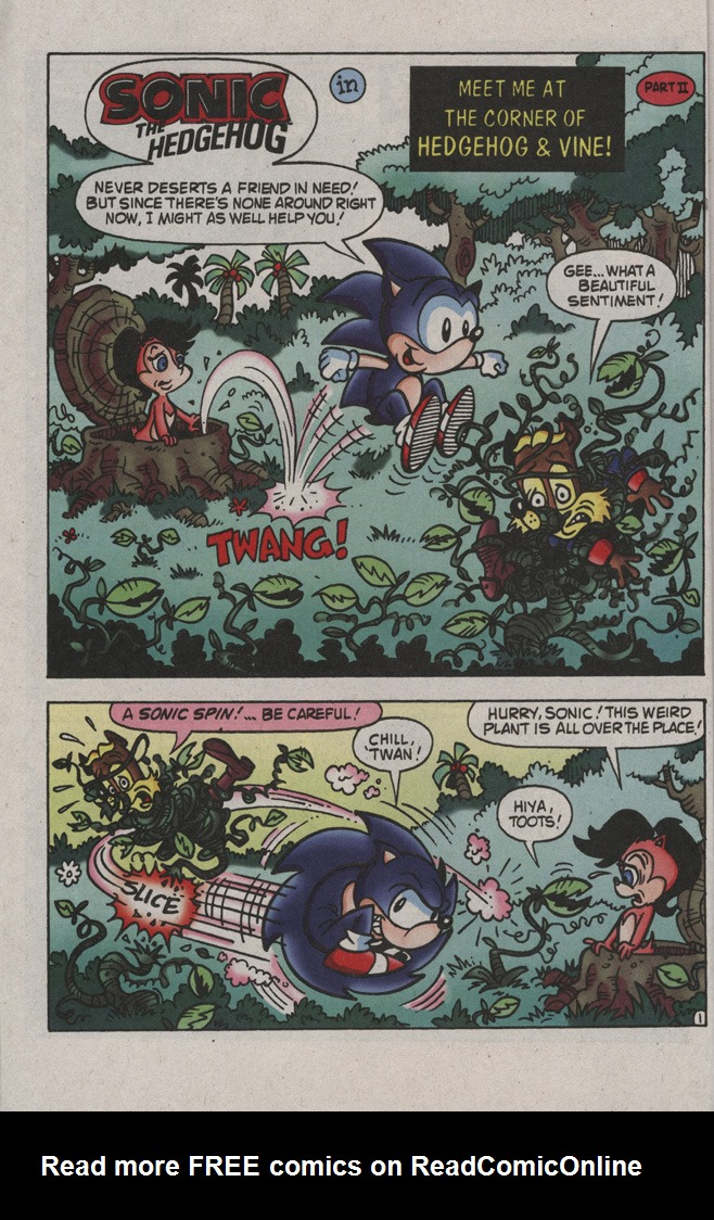 Read online Sonic the Hedgehog Free Comic Book Day Edition comic -  Issue # Special 2 - 12
