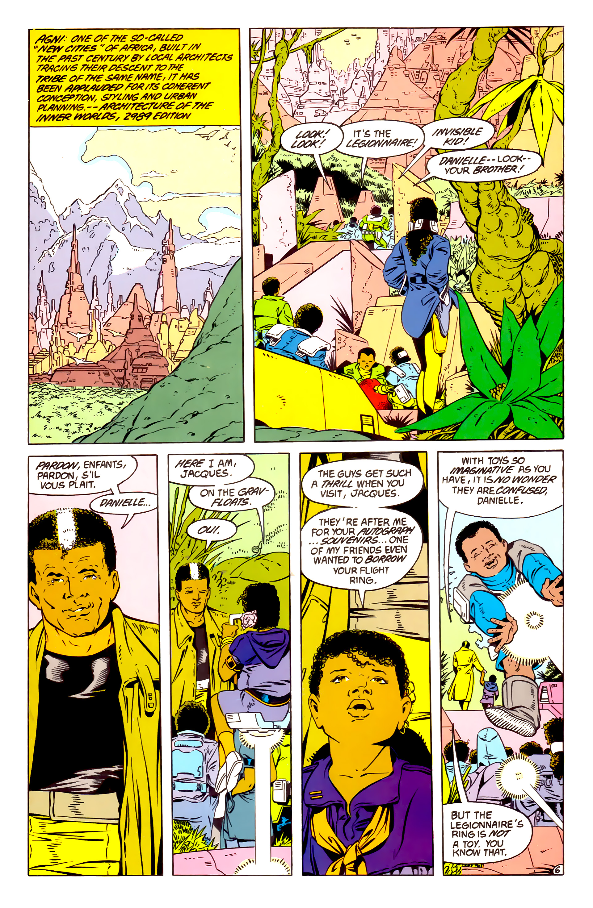 Legion of Super-Heroes (1984) 57 Page 6