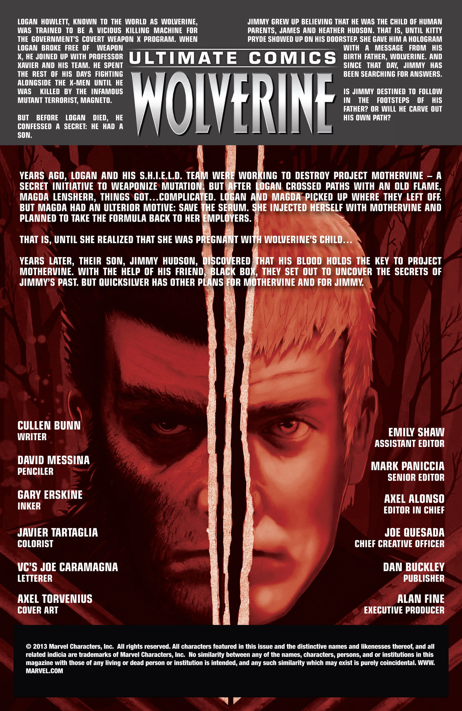 Read online Ultimate Comics Wolverine comic -  Issue #4 - 2