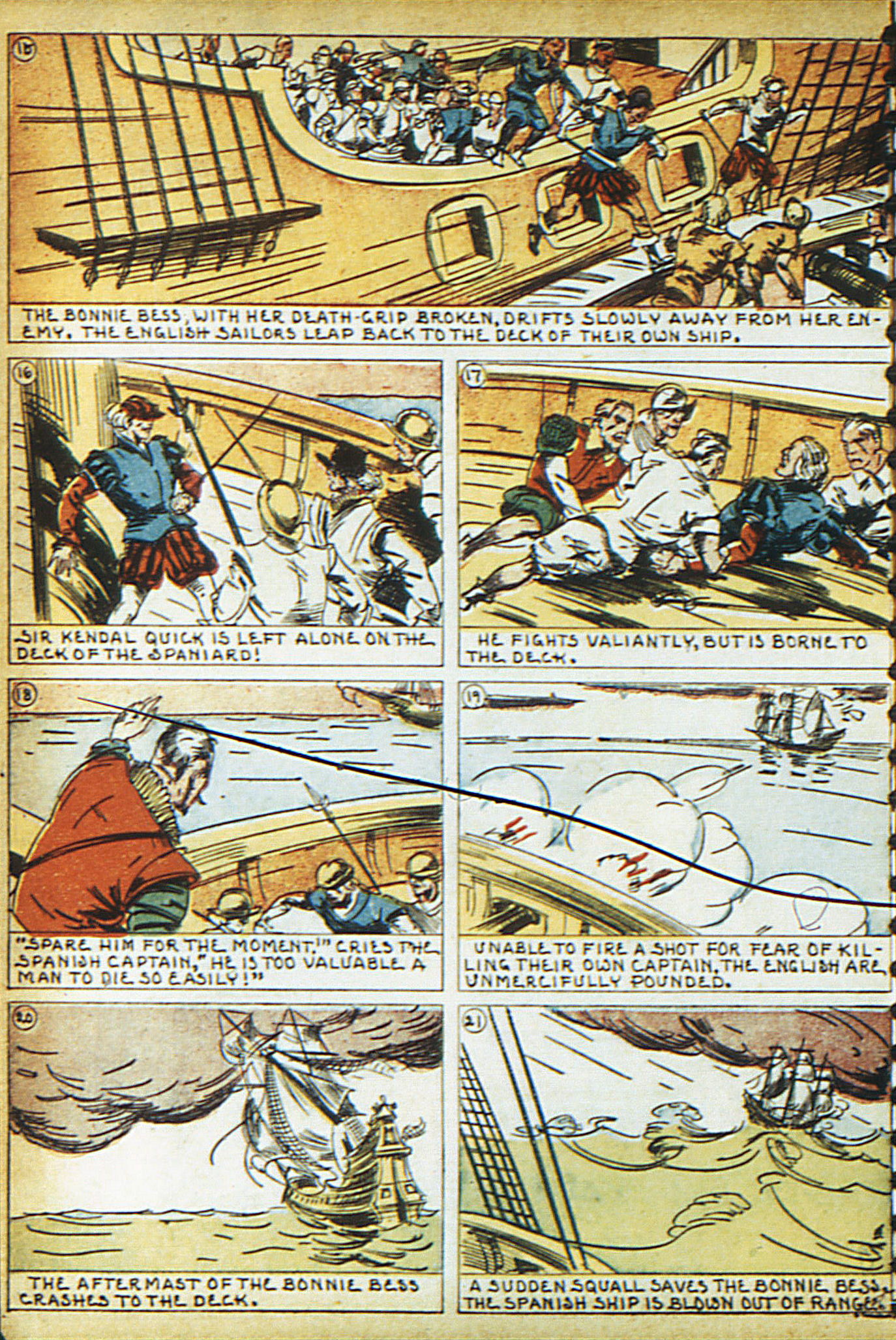Read online Adventure Comics (1938) comic -  Issue #16 - 15