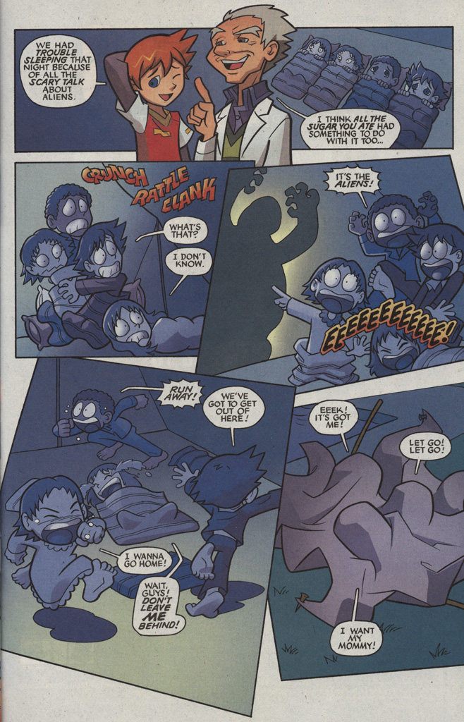 Read online Sonic X comic -  Issue #5 - 11
