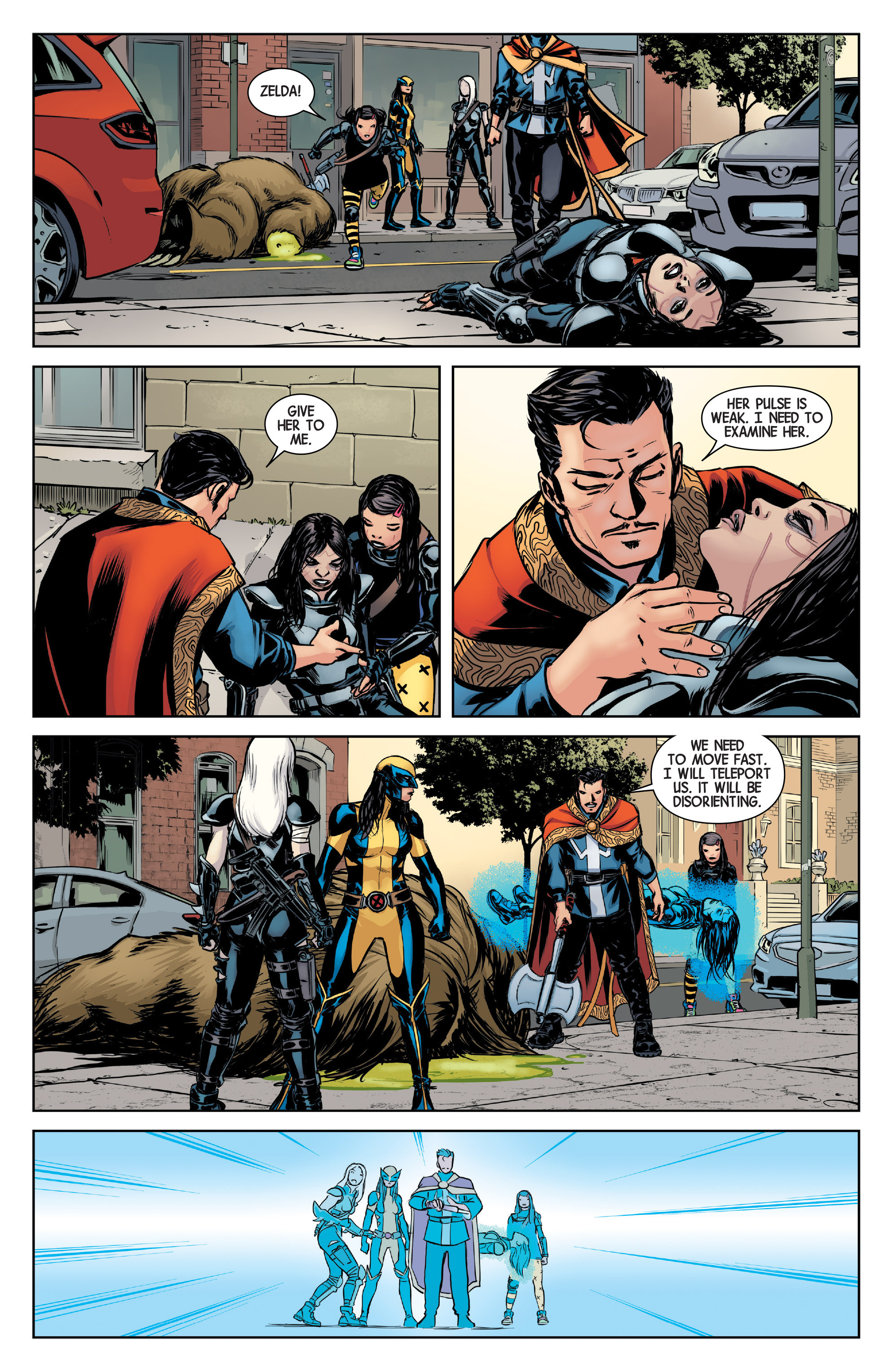 Read online All-New Wolverine (2016) comic -  Issue #4 - 16