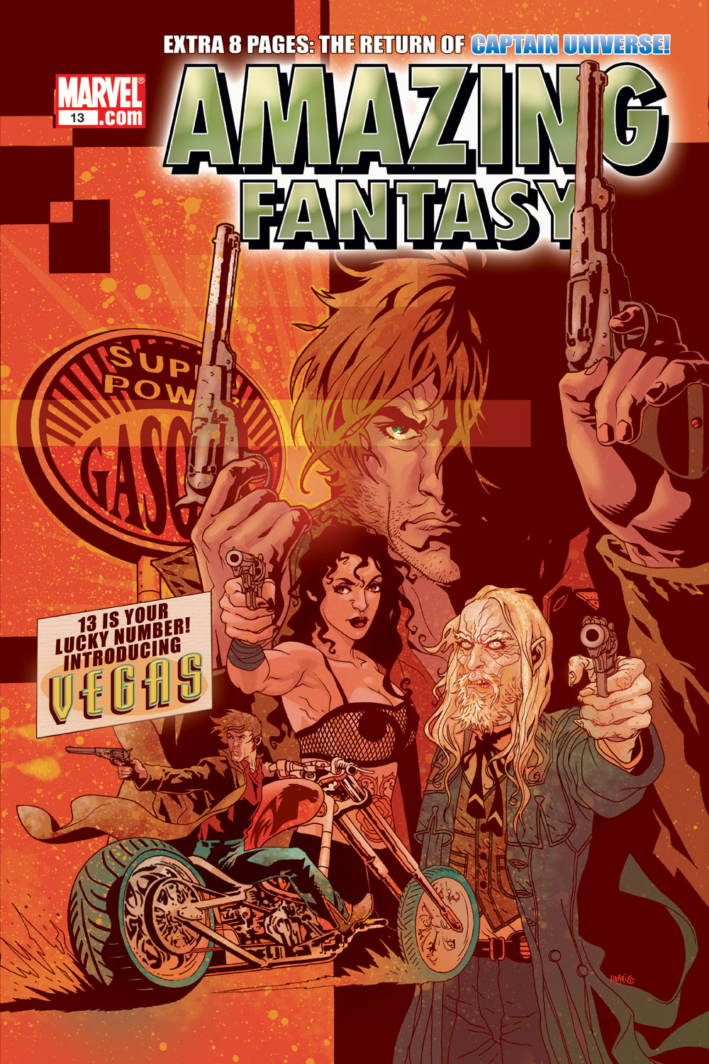 Read online Amazing Fantasy (2004) comic -  Issue #13 - 1