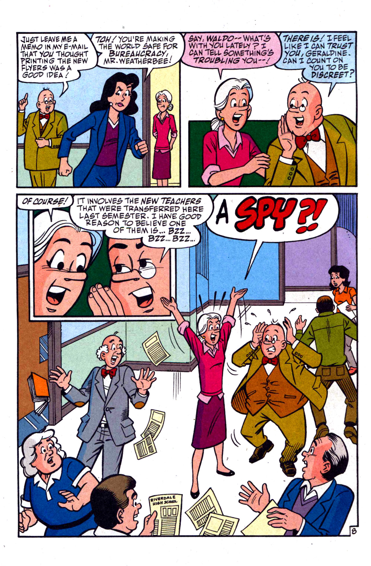 Read online Archie (1960) comic -  Issue #590 - 12
