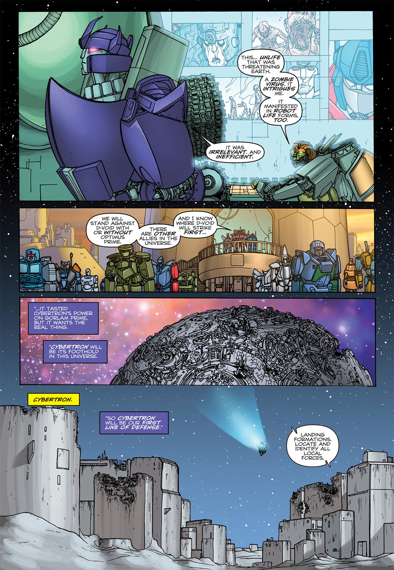 Read online Transformers: Heart of Darkness comic -  Issue #4 - 22