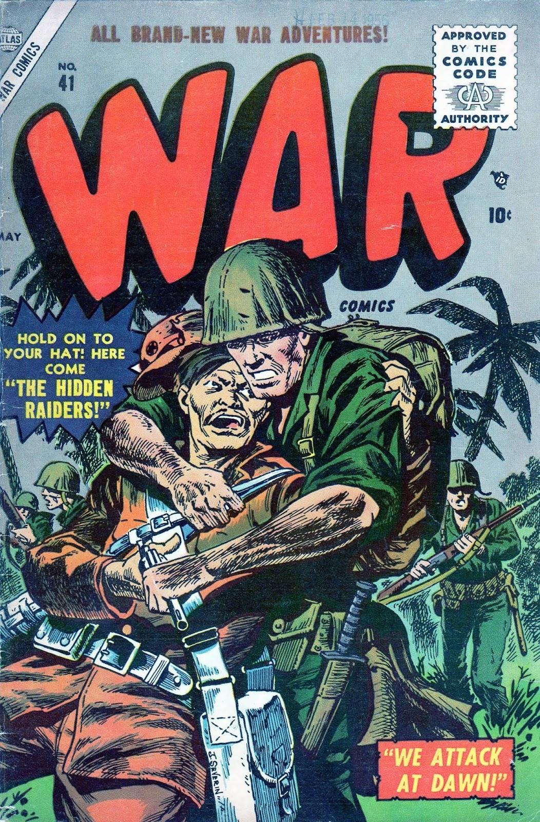War Comics 41 Page 1