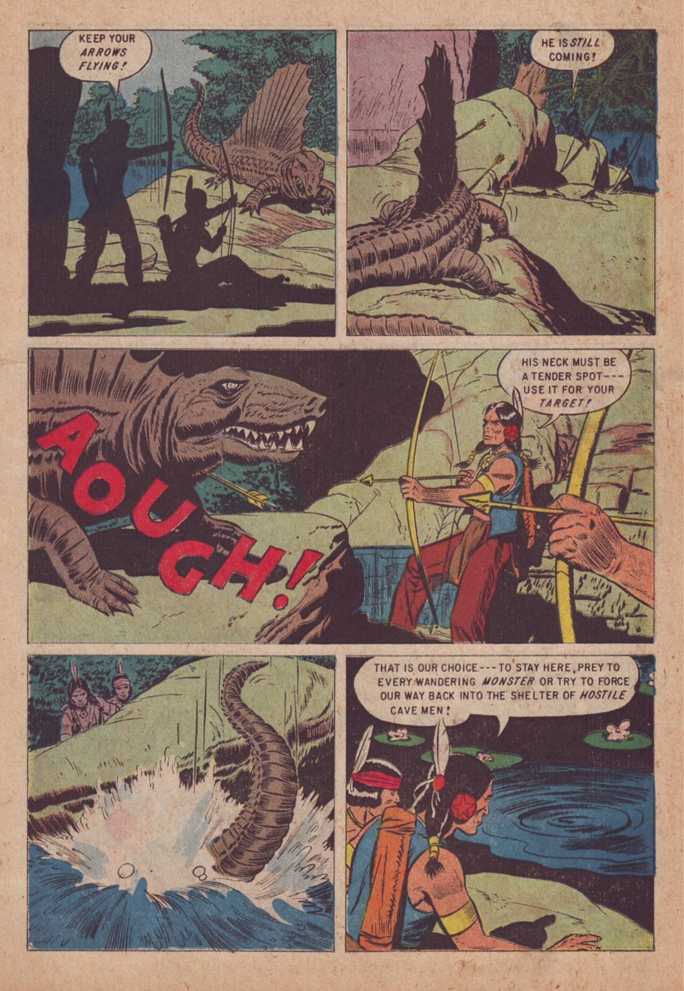 Read online Turok, Son of Stone comic -  Issue #9 - 11